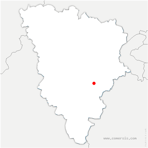 carte de localisation de Saint-Forget