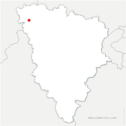 carte de localisation de Saint-Illiers-la-Ville
