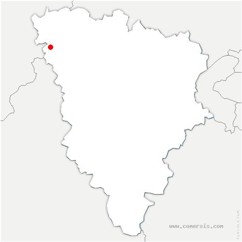 carte de localisation de Saint-Illiers-le-Bois