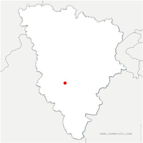 carte de localisation de Saint-Léger-en-Yvelines