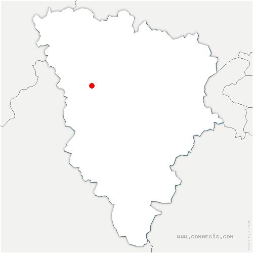 carte de localisation de Saint-Martin-des-Champs