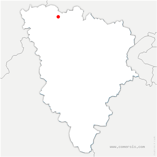 carte de localisation de Saint-Martin-la-Garenne