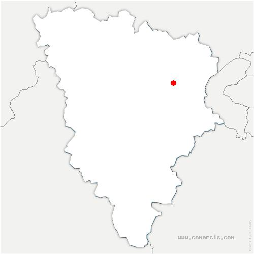 carte de localisation de Saint-Nom-la-Bretèche