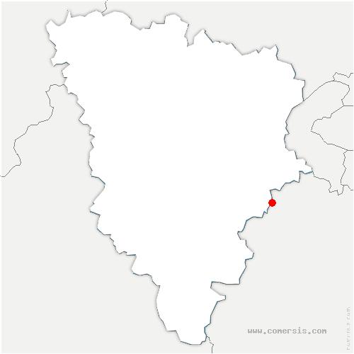 carte de localisation de Saint-Rémy-lès-Chevreuse