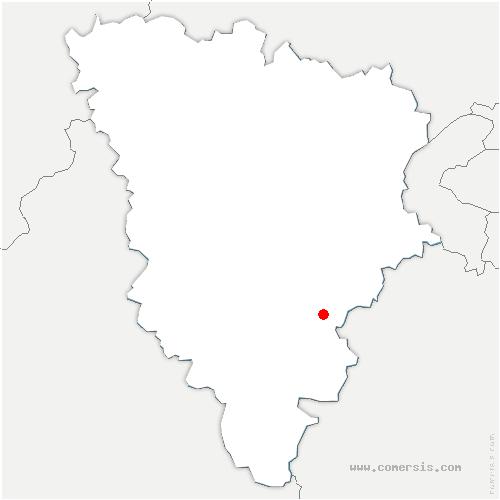carte de localisation de Senlisse