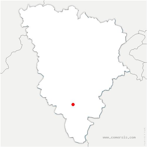 carte de localisation de Sonchamp