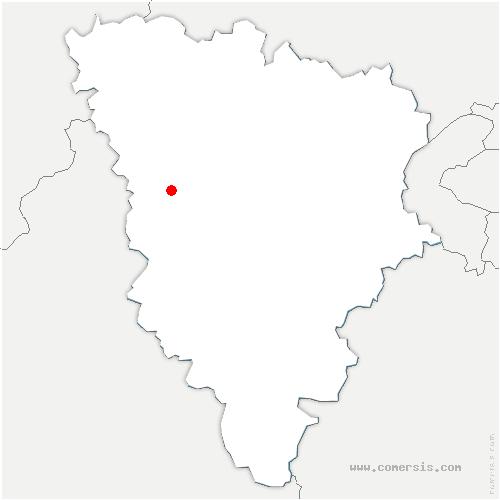 carte de localisation de Tacoignières