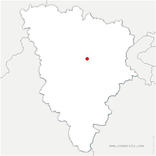 carte de localisation de Thiverval-Grignon