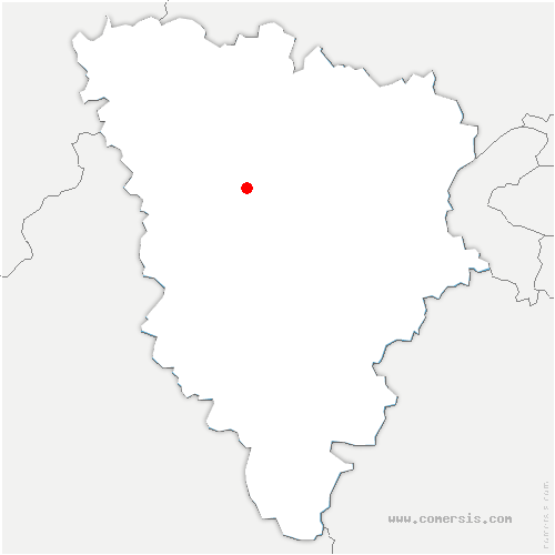 carte de localisation de Thoiry