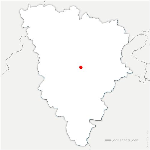 carte de localisation de Tremblay-sur-Mauldre