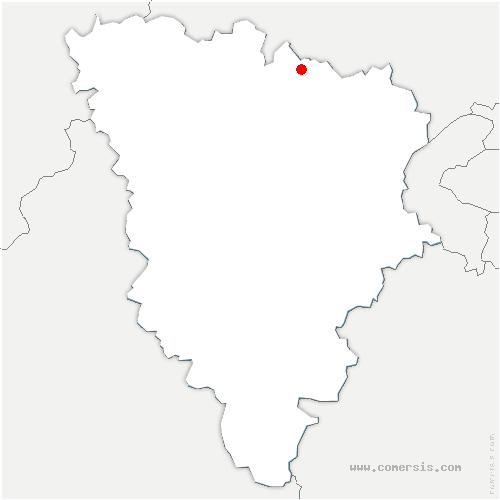 carte de localisation de Vaux-sur-Seine