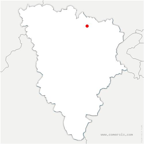 carte de localisation de Verneuil-sur-Seine