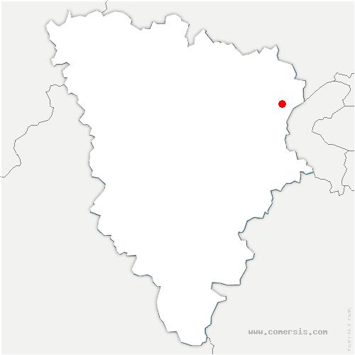 carte de localisation de Vésinet