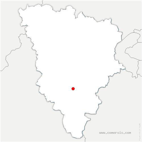 carte de localisation de Vieille-Église-en-Yvelines