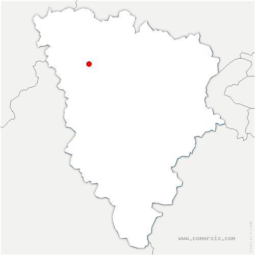 carte de localisation de Villette