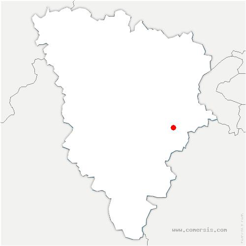 carte de localisation de Voisins-le-Bretonneux