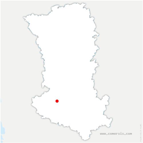 carte de localisation de Aiffres