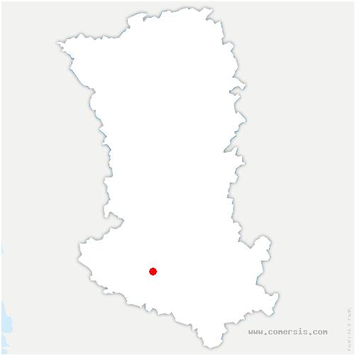 carte de localisation de Juscorps