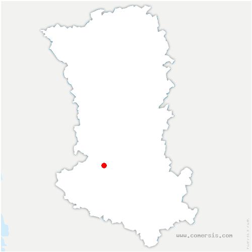 carte de localisation de Niort