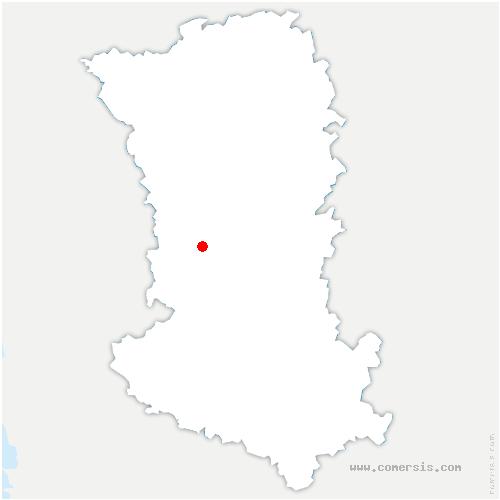carte de localisation de Pamplie