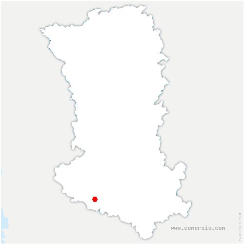 carte de localisation de Plaine-d'Argenson