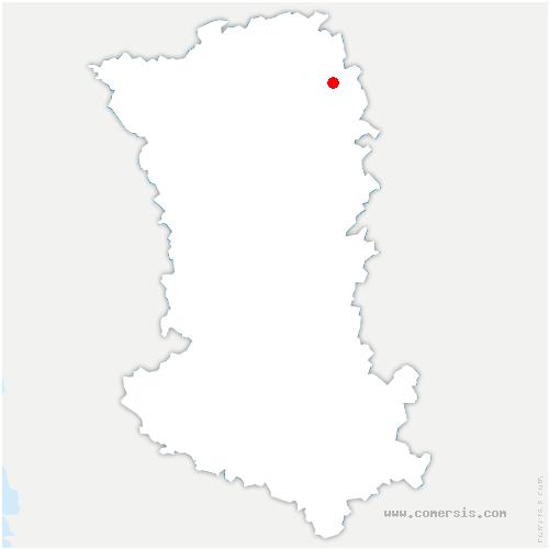 carte de localisation de Plaine-et-Vallées