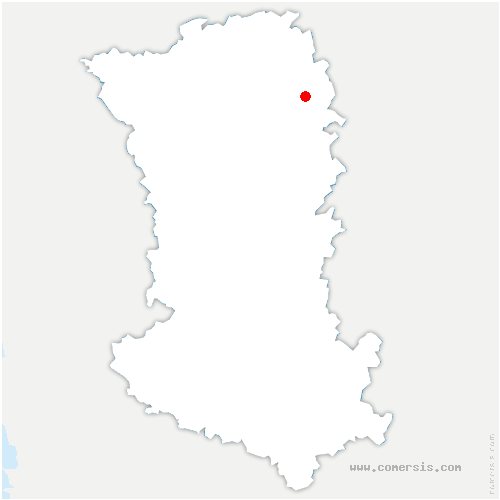 carte de localisation de Saint-Généroux