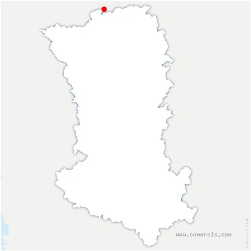 carte de localisation de Saint-Maurice-Étusson