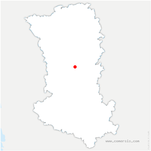 carte de localisation de Saint-Pardoux-Soutiers