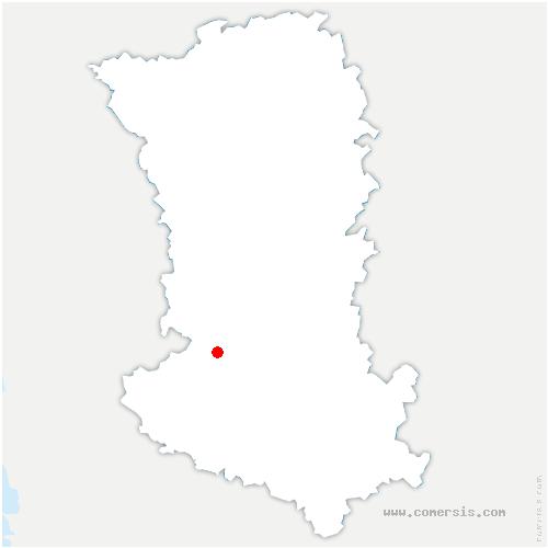 carte de localisation de Sciecq