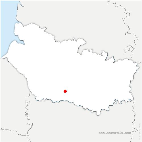 carte de localisation de Ô-de-Selle