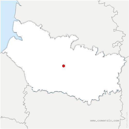 carte de localisation d'Amiens