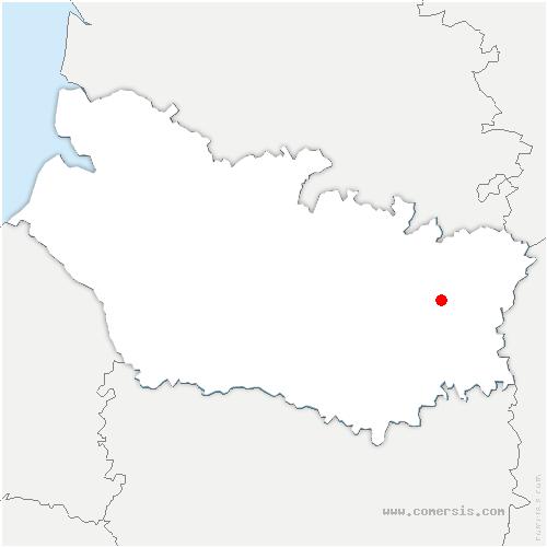 carte de localisation de Barleux
