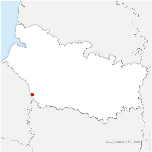 carte de localisation de Beaucamps-le-Jeune