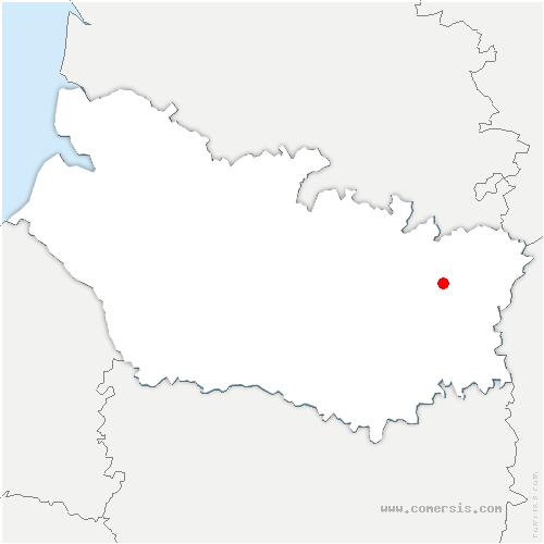 carte de localisation de Biaches