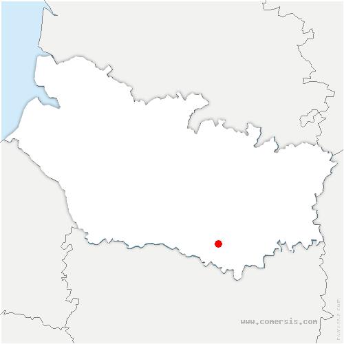 carte de localisation de Bouillancourt-la-Bataille