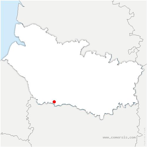 carte de localisation de Brassy