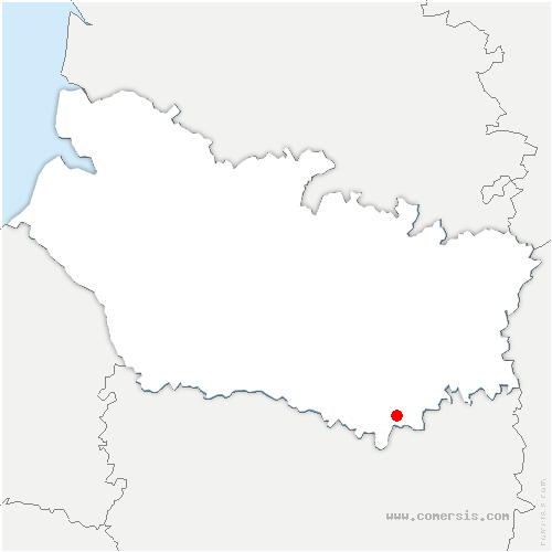 carte de localisation de Bus-la-Mésière
