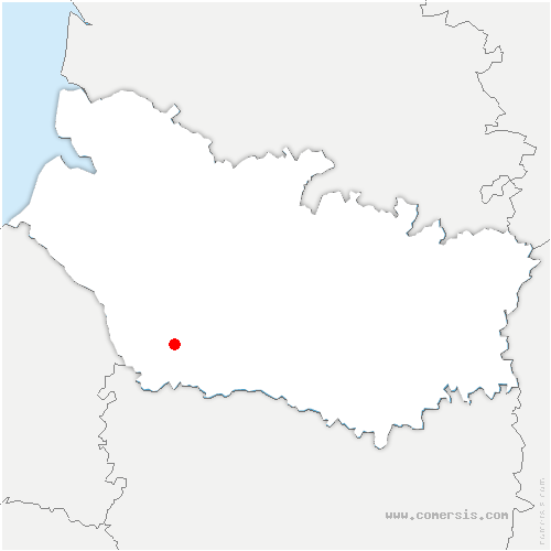 carte de localisation de Croixrault