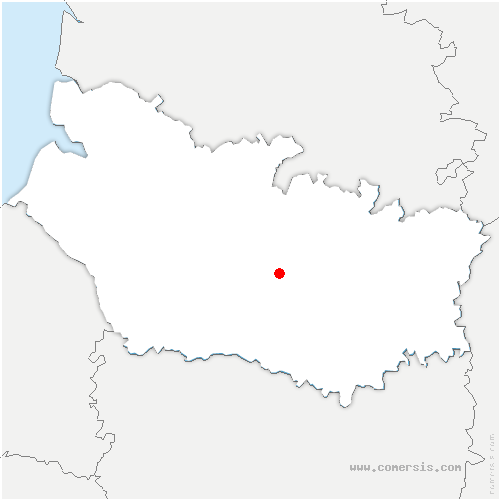carte de localisation de Daours