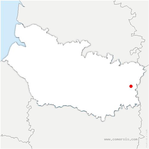 carte de localisation de Devise