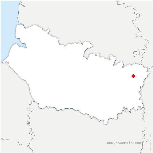 carte de localisation de Driencourt