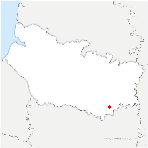 carte de localisation de Échelle-Saint-Aurin