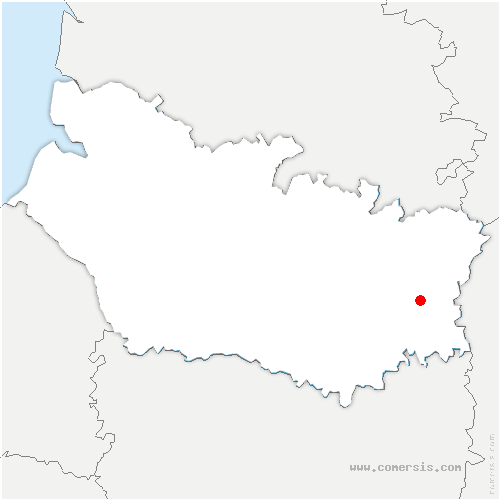 carte de localisation de Ennemain