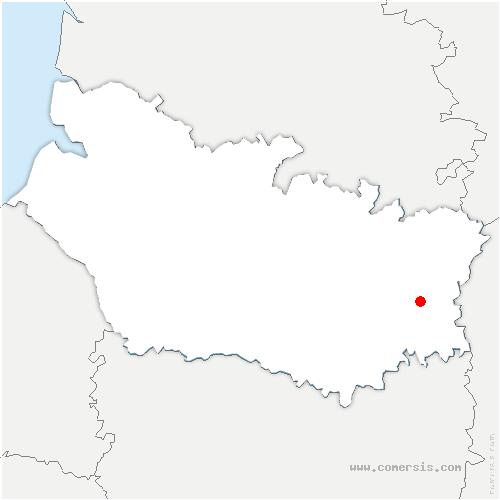 carte de localisation de Falvy