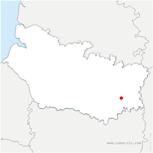 carte de localisation de Fonches-Fonchette