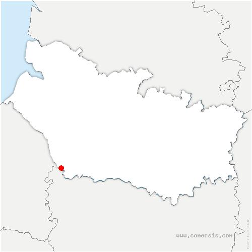 carte de localisation de Fourcigny