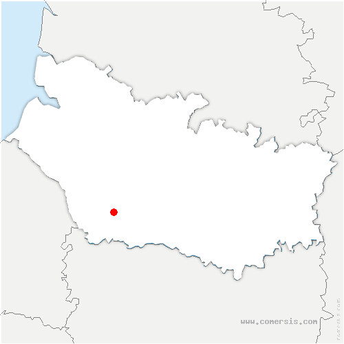 carte de localisation de Fricamps
