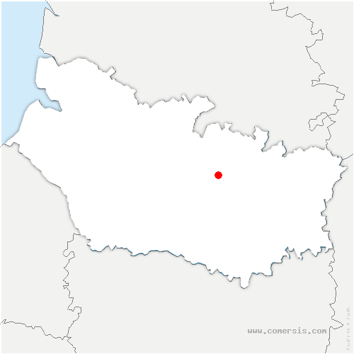 carte de localisation de Heilly