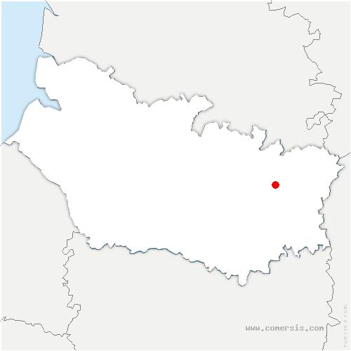 carte de localisation de Herbécourt